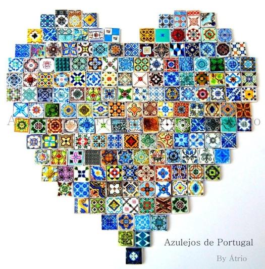 tile heart